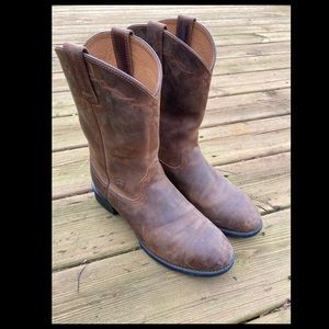 Ariat Men's Cowboy Boots Like New Condition Size 8